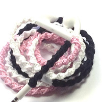 Hopeless Romantic MyBuds Wrapped Headphones Tangle Free Earbuds Your Choice of Headphones