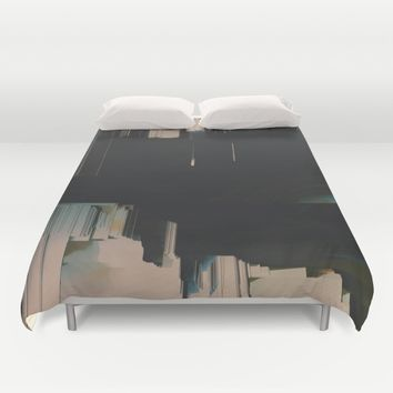 Neutrality Duvet Cover by Ducky B
