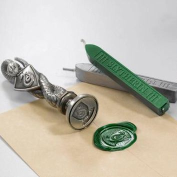 Slytherin Wax Seal |