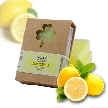 100g Natural Lemon Essential Oil Handmade Soap