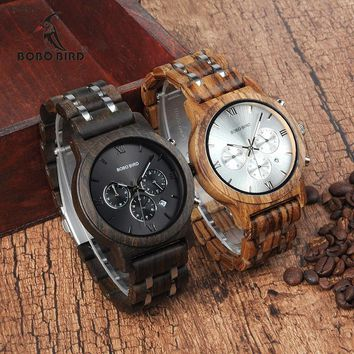 BOBO BIRD Classy Wooden Men's Watch