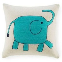One Kings Lane - Get the Look - Amity Elephant Decorative Pillow
