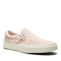 Classic Slip On Sneaker in Iced Pink & Blanc de Blanc