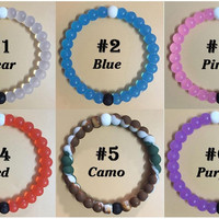 New Arrival  6pcs/lot  All color  Lokai Bracelets (all in one) (new neon is free)