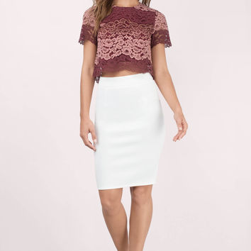Lysa Lace Crop Top