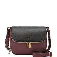Fossil Preston Colorblocked Small Flap Cross-Body Bag