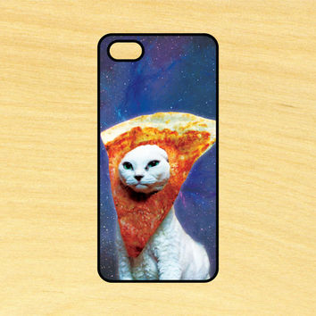 Pizza Face Cat in Space iPhone 4/4S 5/5C 6/6+ and Samsung Galaxy S3/S4/S5 Phone Case
