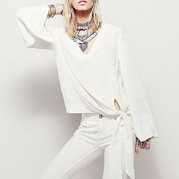 Free People Womens Come What May Top