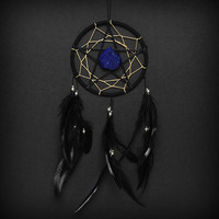 Star Dream Catcher  With Blue Lapis Gemstone