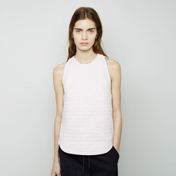 Snakeskin Quilted Trapunto Top by 3.1 Phillip Lim