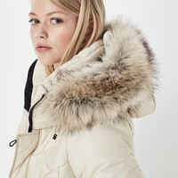 Alaska Fur Hooded Coat