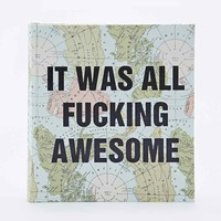 It Was All Awesome Map Photo Album - Urban Outfitters
