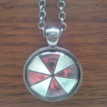 Resident evil necklace,Resident evil pendant,Resident Evil Umbrella Corporation ,umbrella corporation