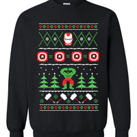 Avengers Xmas Ugly Christmas Sweater sweatshirt Unisex Adults