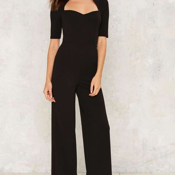 Follow Suit Cutout Jumpsuit