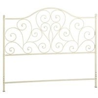 Scroll Headboards - Antique White