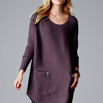 Ribbed Poncho Sweater - A Kiss of Cashmere - Victoria's Secret