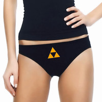 Zelda Triforce Panties- Custom Underwear Panties Thongs Undies Lingerie