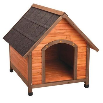 Ware Premium Plus A-Frame Dog House Sz: Lg