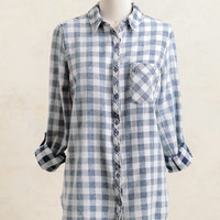 Helms Checkered Button-Up