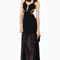 Nasty Gal Amulet Maxi Dress