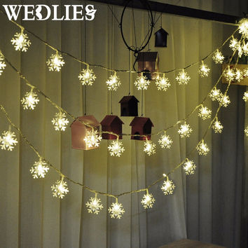 lights christmas tree snowflake bulbs 25m 20led 4m 40led fairy