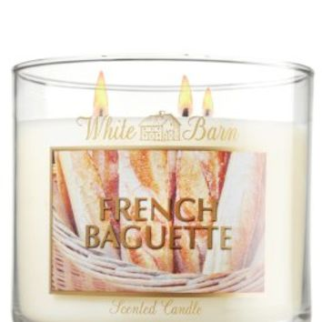 French Baguette 14.5 oz. 3-Wick Candle   - Slatkin & Co. - Bath & Body Works
