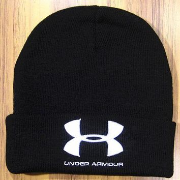 DCCKNY1Q Boys & Men Under Armour Hip Hop Women Men Beanies Winter Knit Hat Cap