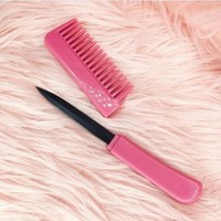 Day-First™ Pink Comb Knife
