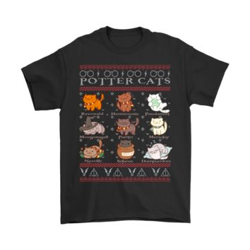 ONETOW Harry Potter Cats For Cat Lovers Christmas Shirts