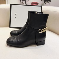 Gucci Leather Ankle Boot #1485