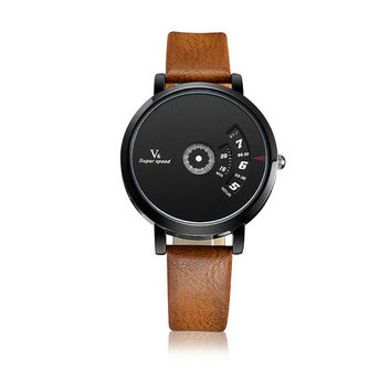 Minimalist Watch – Unique, Unisex, Quick-Read Analog Watch