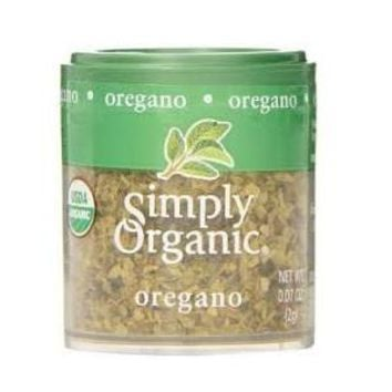 Simply Organic Mini Oregano Leaf (6x.07 Oz)