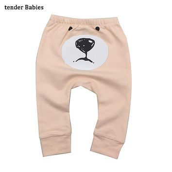 New Baby Boys Girls Pants Fashion Lattice Pants Cotton Baby Girls Harem Pants For Baby Casual newborn Trousers Boys Girl Clothes