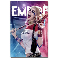 Harley Quinn - Suicide Squad Art Silk Poster Print 13x20 24x36 inch New Movie Minimalist Pictures for Home Wall Decor