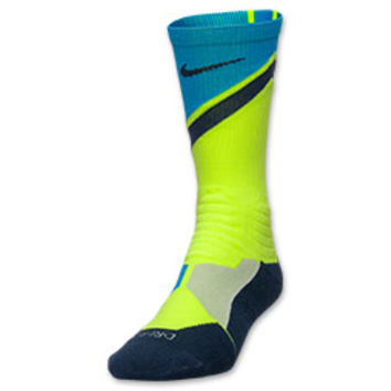 Men's Nike Hyper Elite Basketball World Tour Crew Socks