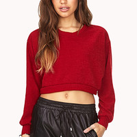 Day Off Cropped Sweater
