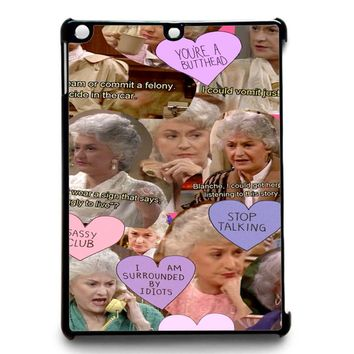 The Golden Girl Collage iPad Air 2 Case