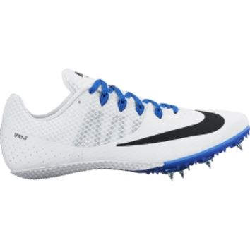 Nike Women's Zoom Rival S 8 Track and Field Shoes - White/Blue   DICK'S Sporting Goods