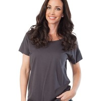 Short Sleeve Tunic - Charcoal (Special Offer)
