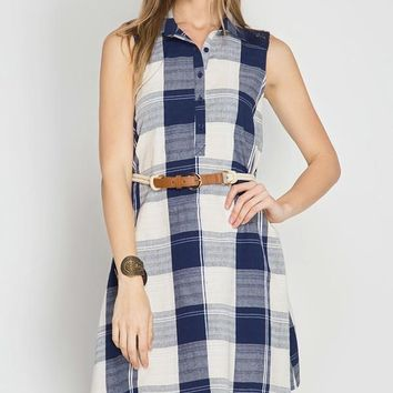 Pleasant Plaid Dress