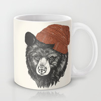 zissou the bear Mug by Laura Graves