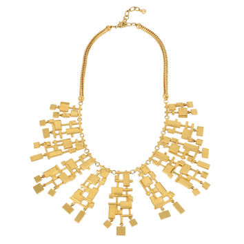 Wexler Statement Necklace, Gold