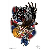 Lynyrd Skynyrd Poster - Free Bird - Rare New Hot 24x36