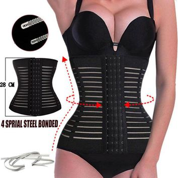 Hot Shapers Waist Trainer plus size shapewear Weight Loss belt Slimming Underwear waist trainer corset Body Shaper Faja