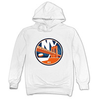 CRIS Schedule Stadium New York Islanders Hoodies White For Men