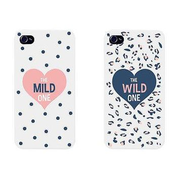 Mild Polka Dots Cute BFF Mathing Phone Cases For Best Friends Gift
