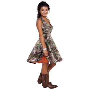 Realtree ® Camo Halter Dress | Camo Homecoming Dresses