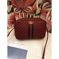 Gucci Women Leather Shoulder Bag Crossbody Satche