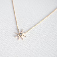 Keira Opal Necklace at Minette